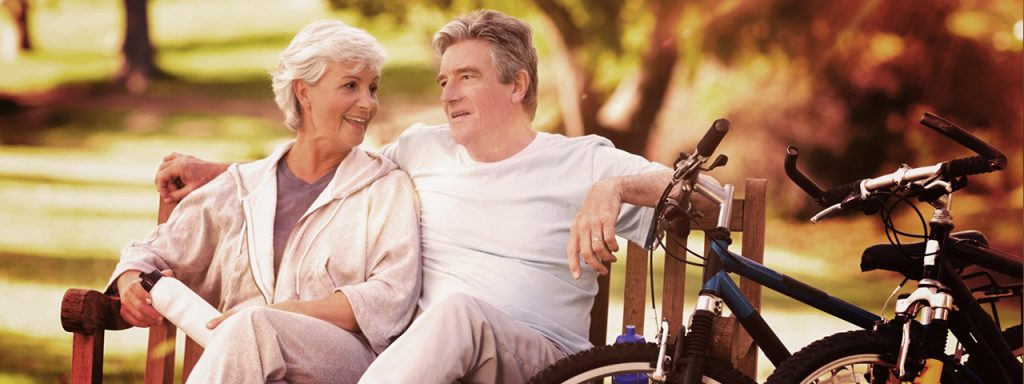 Older Couple needs macular degeneration care in Macon